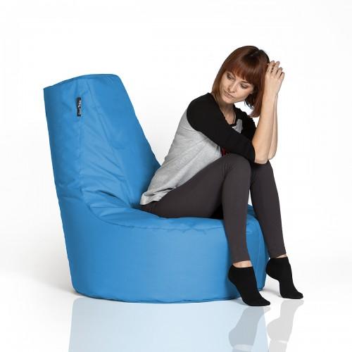 CrazyShop sedací vak KRESLO, modrá