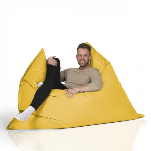 CrazyShop sedací vak MAXI, žltá