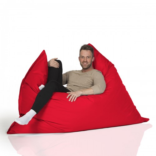 CrazyShop sedací vak MAXI, červená