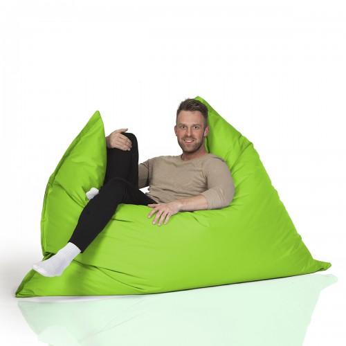 CrazyShop sedací vak MAXI, neónovo zelená