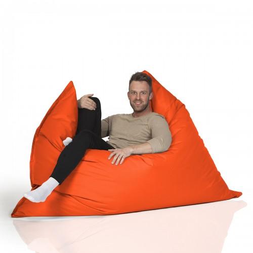 CrazyShop sedací vak MAXI, oranžová
