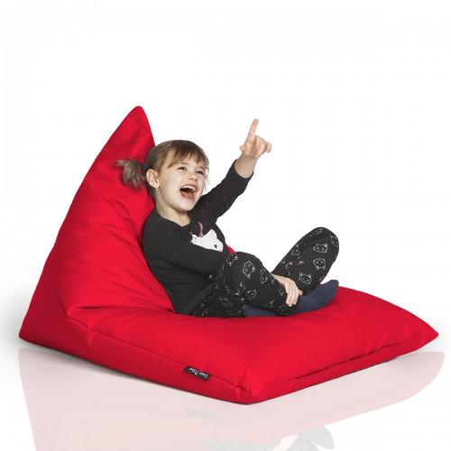 CrazyShop sedací vak TRIANGL S, červená