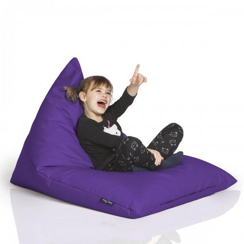 CrazyShop sedací vak TRIANGL S, fialová