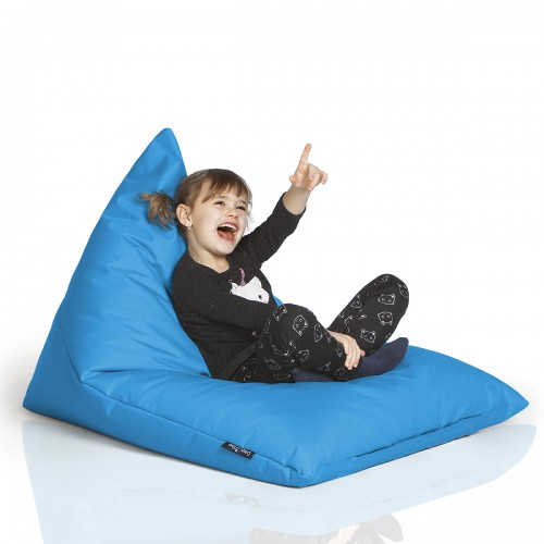 CrazyShop sedací vak TRIANGL S, modrá
