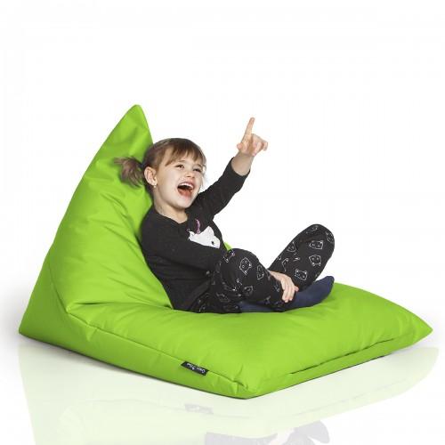 CrazyShop sedací vak TRIANGL S, neónovo zelená