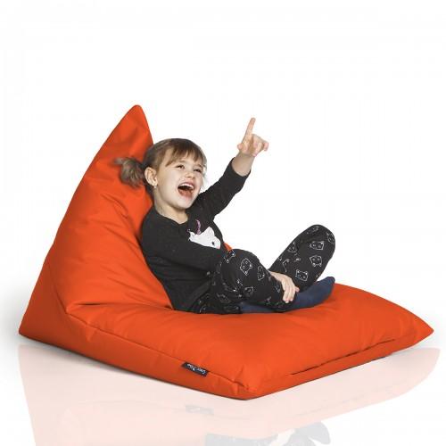 CrazyShop sedací vak TRIANGL S, oranžová