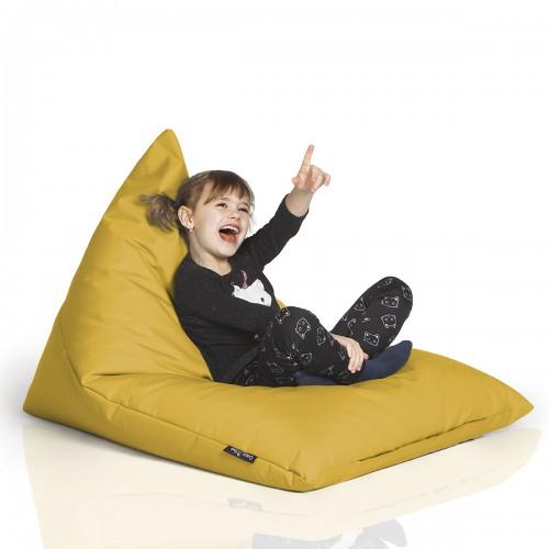 CrazyShop sedací vak TRIANGL S, žltá