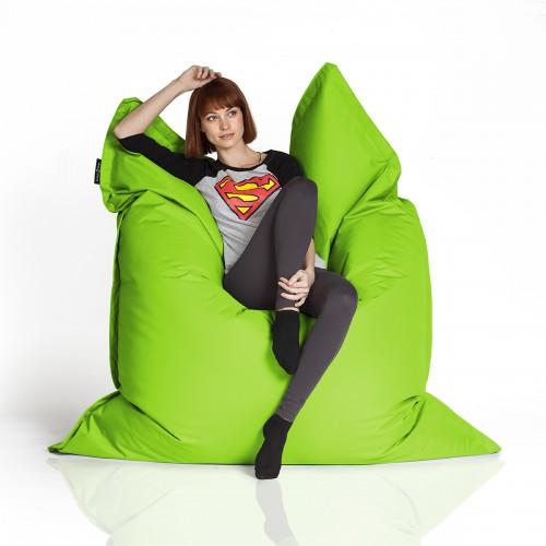 CrazyShop sedací vak STANDARD 144×180 cm, neonová