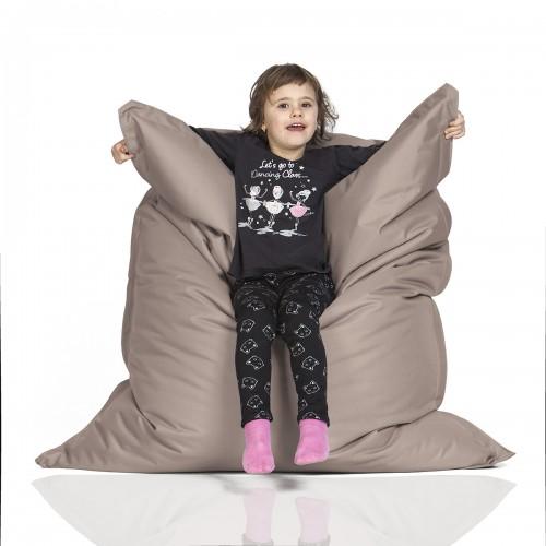 CrazyShop sedací vak KIDS, béžová