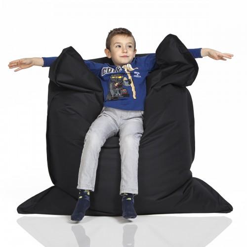 CrazyShop sedací vak KIDS, čierna