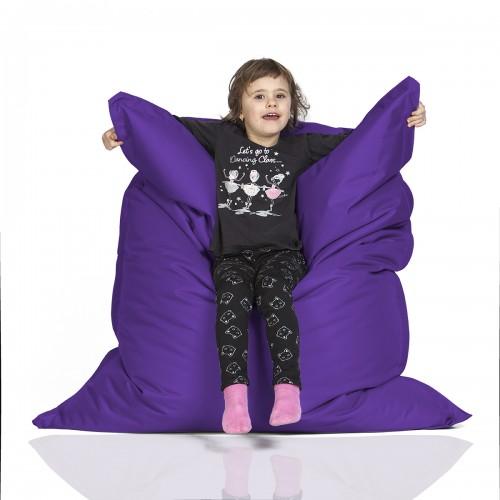 CrazyShop sedací vak KIDS, fialová