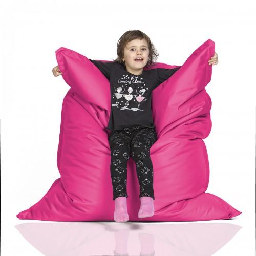 CrazyShop sedací vak KIDS, růžová
