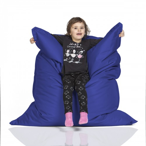 CrazyShop sedací vak KIDS, tmavo modrá