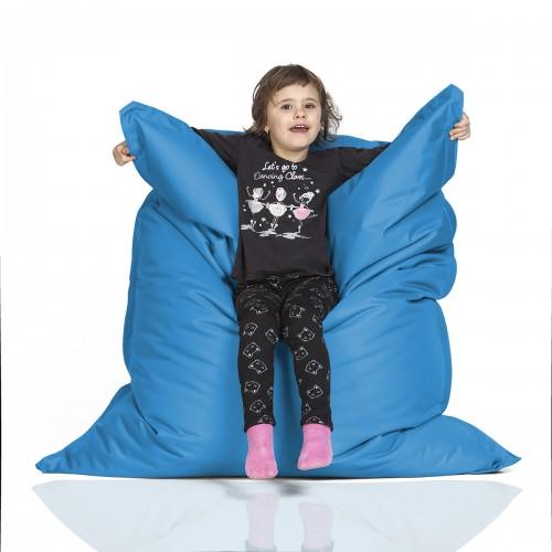 CrazyShop sedací vak KIDS, modrá
