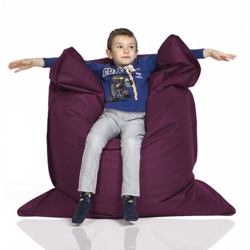 CrazyShop sedací vak KIDS, vínová