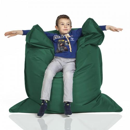 CrazyShop sedací vak KIDS, tmavo zelená