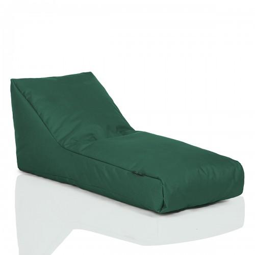 CRAZYSHOP Lehátko Standard, tmavě zelená