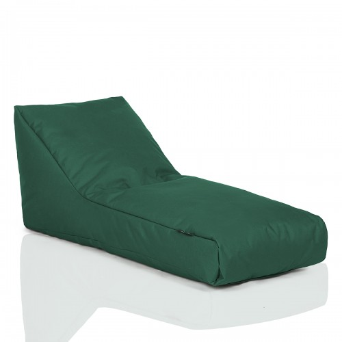 CRAZYSHOP Lehátko Standard, tmavo zelená