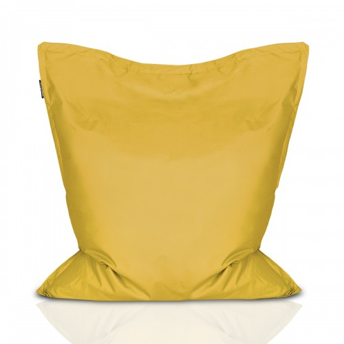 CrazyShop sedací vak PIGI, žltá