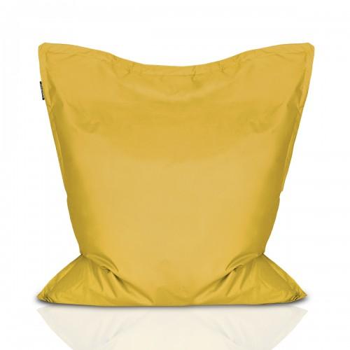 CrazyShop sedací vak PIGI, žlutá