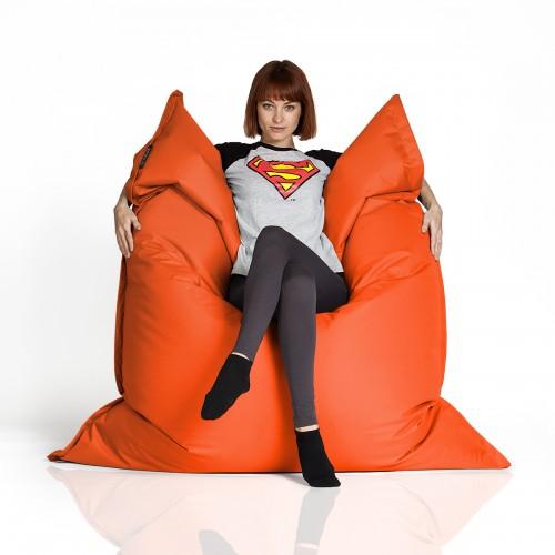 CrazyShop sedací vak XXXL, oranžová