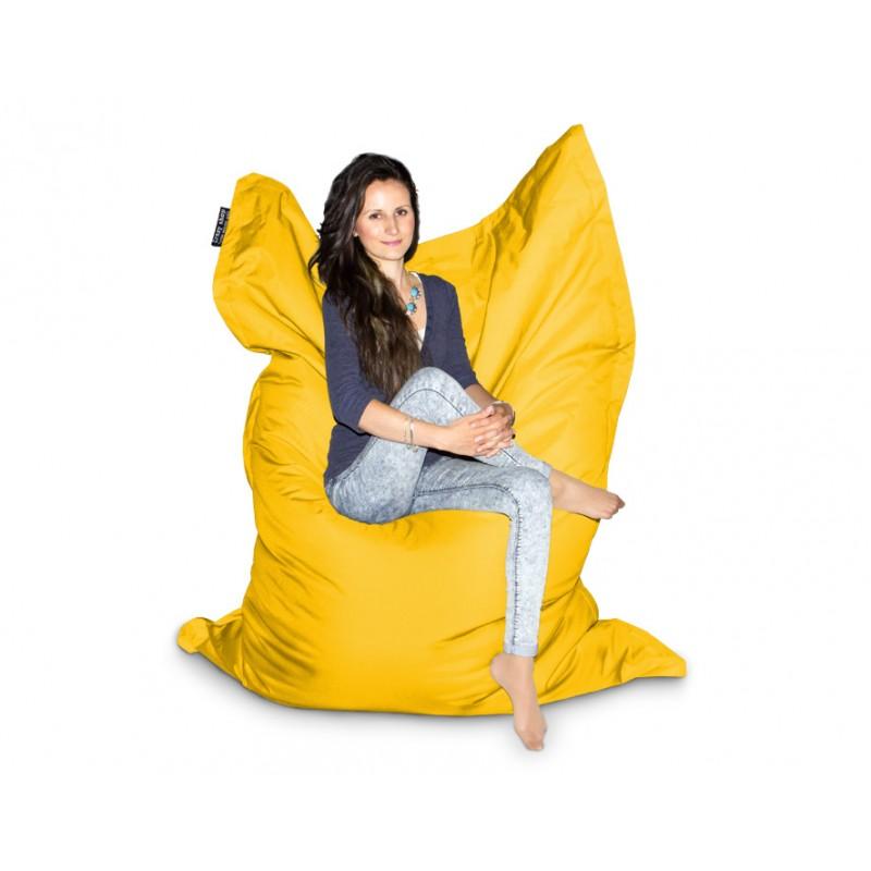 CrazyShop sedací vak XXXL, žlutá
