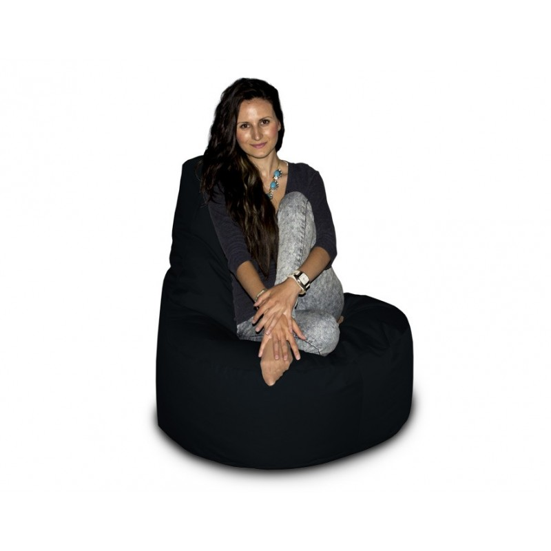 CrazyShop sedací vak KŘESLO, černá
