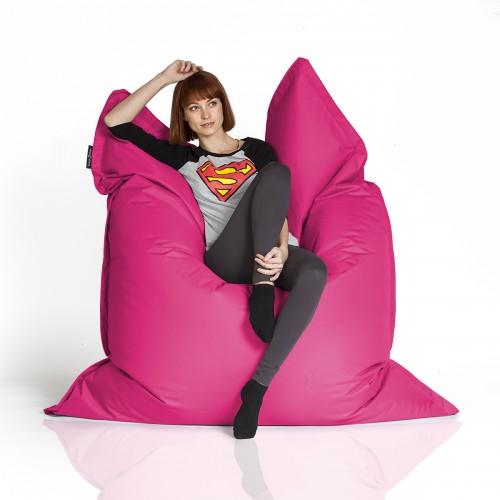 CrazyShop sedací vak STANDARD 144×180 cm, ružová