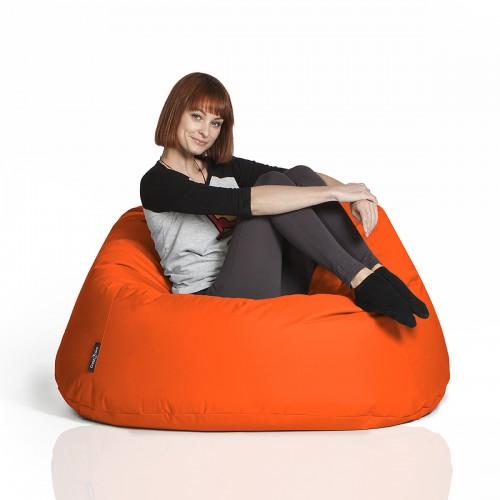 CrazyShop sedací vak COOL, oranžová