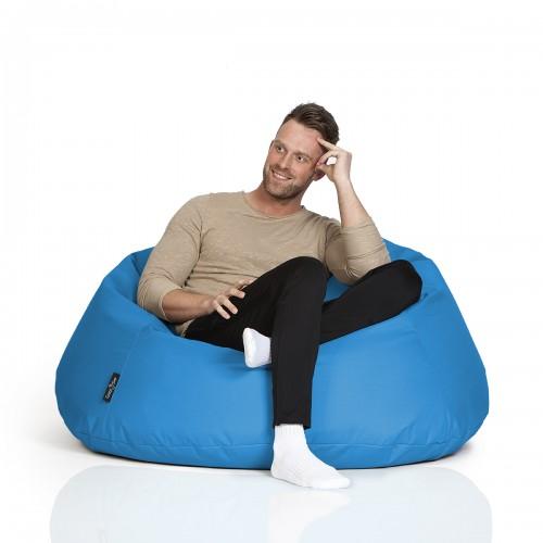 CrazyShop sedací vak COOL, modrá