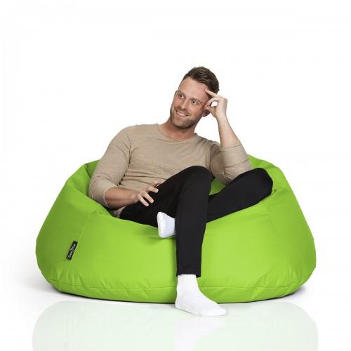 CrazyShop sedací vak COOL, neonově zelená