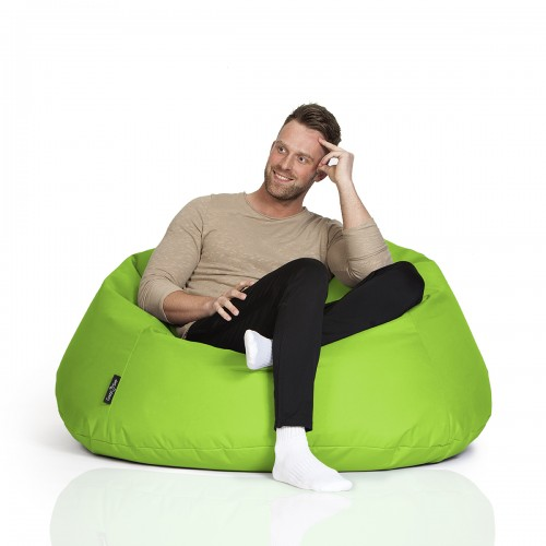 CrazyShop sedací vak COOL, neónovo zelená