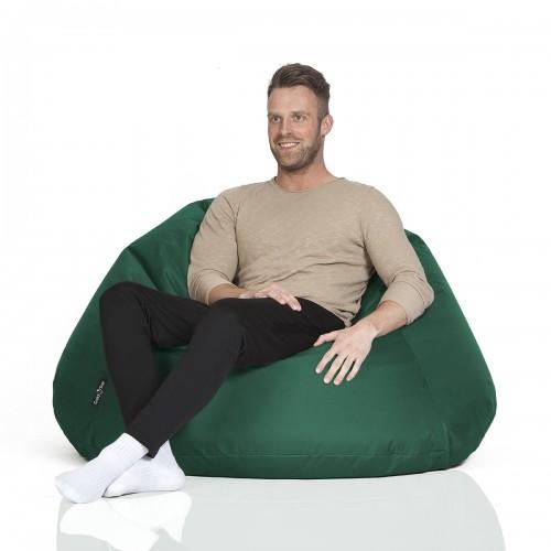 CrazyShop sedací vak COOL, tmavě zelená