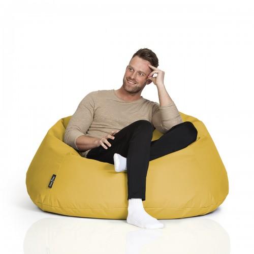 CrazyShop sedací vak COOL, žlutá