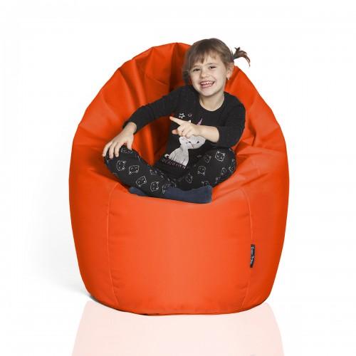 CrazyShop sedací vak HRUŠKA STANDARD, oranžová