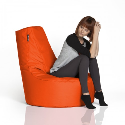 CrazyShop sedací vak KRESLO, oranžová