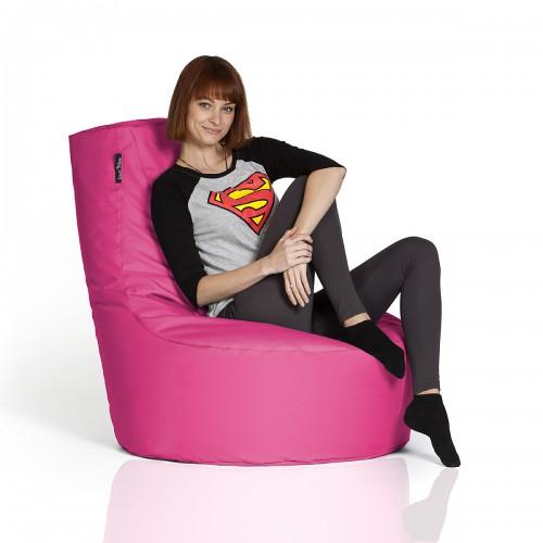 CrazyShop sedací vak KRESLO, ružová
